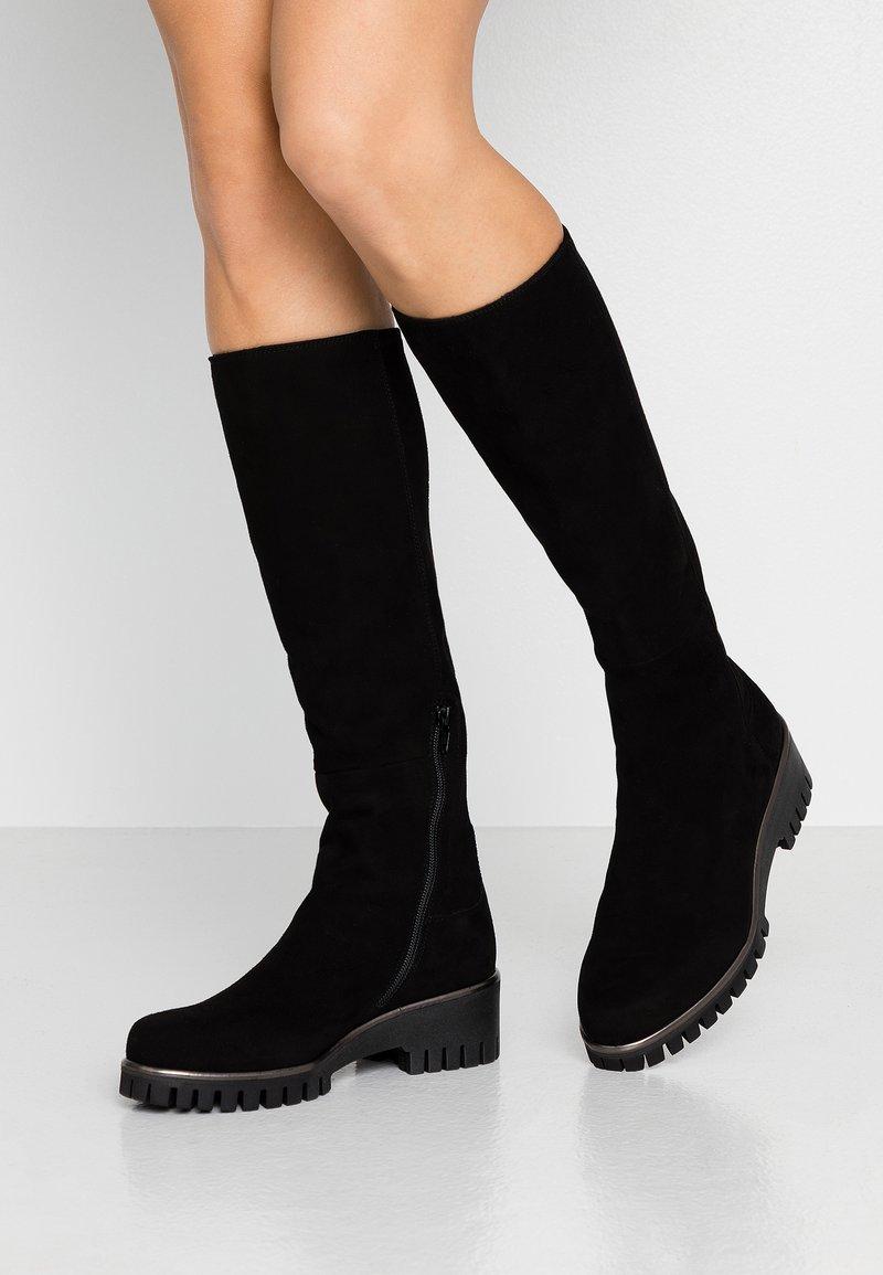 Donna Carolina - Vysoká obuv - nero