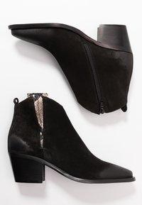 Donna Carolina - Kotníková obuv - silk nero - 3