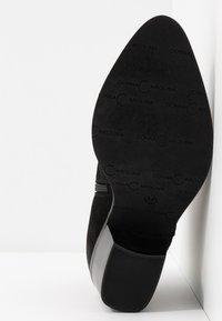 Donna Carolina - Kotníková obuv - silk nero - 6
