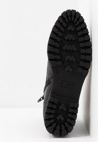 Donna Carolina - Šněrovací kotníkové boty - texas nero - 6