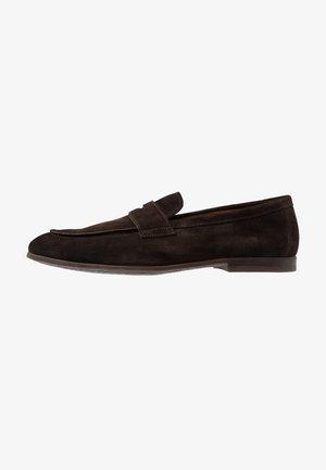 PENNY LOAFER - Elegantní nazouvací boty - testa di moro