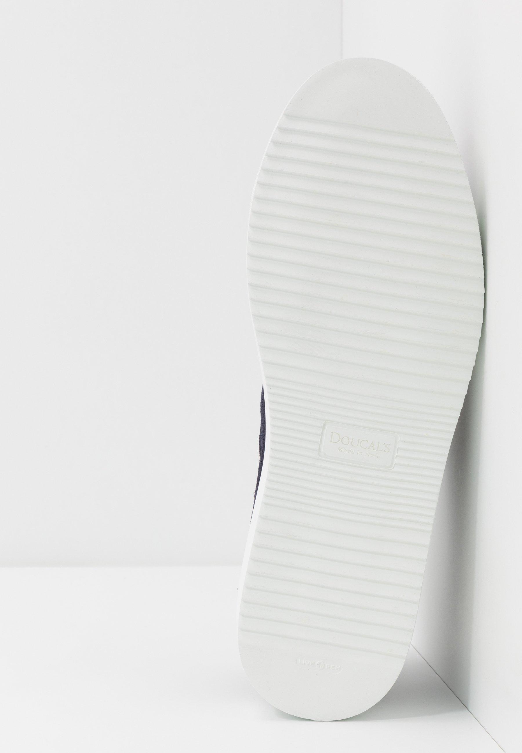 Doucal\'s Sneakers Basse - Wash Blu/bianco