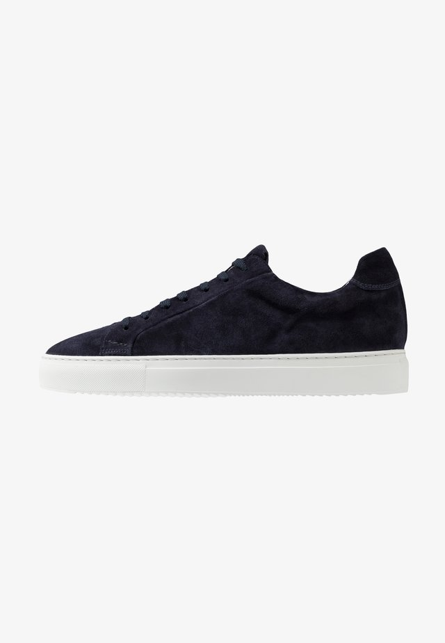 Sneaker low - wash blu/bianco