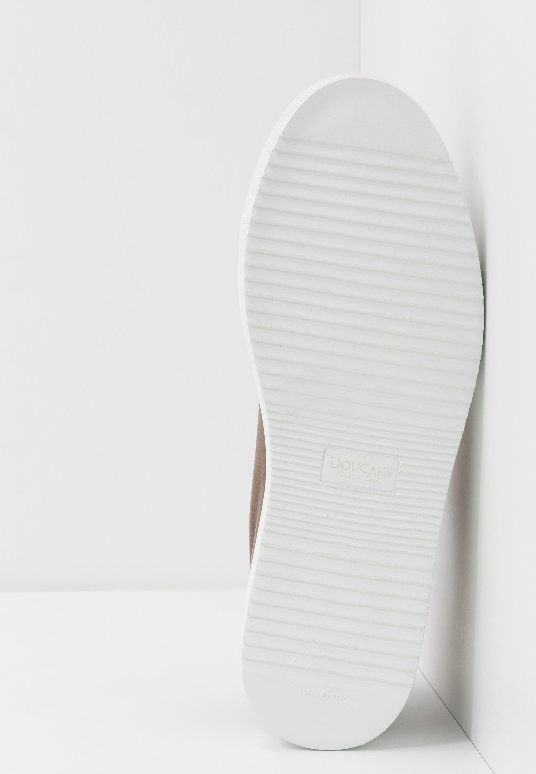 Doucal's Baskets basses - brandy/bianco