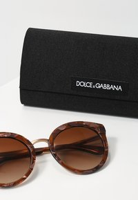 Dolce&Gabbana - Okulary przeciwsłoneczne - brown - 3