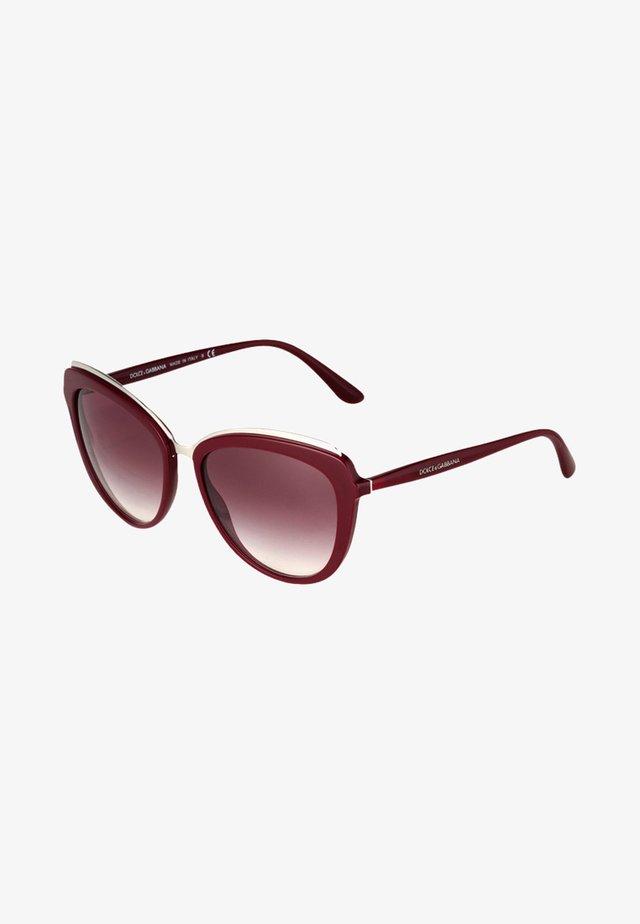 Okulary przeciwsłoneczne - bordeaux