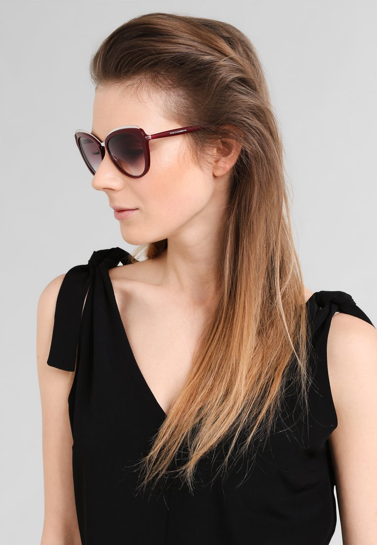 Dolce&Gabbana - Lunettes de soleil - bordeaux