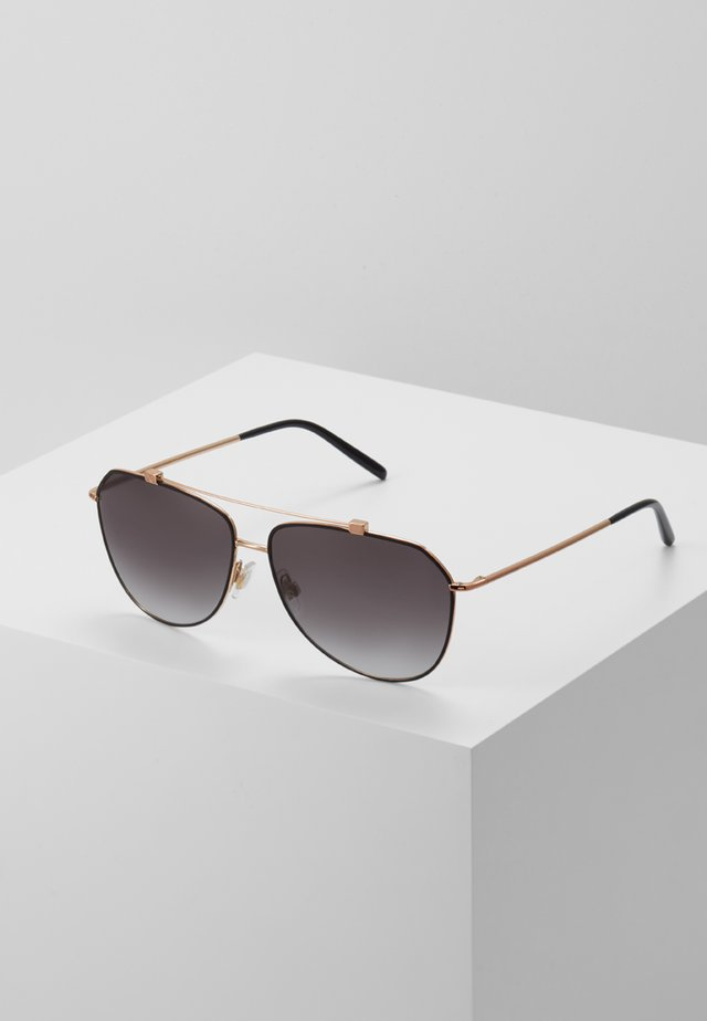 Sonnenbrille - light grey gradient black