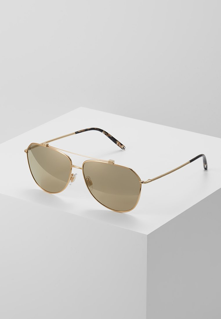 Dolce&Gabbana - Sonnenbrille - light brown mirror dark gold-coloured