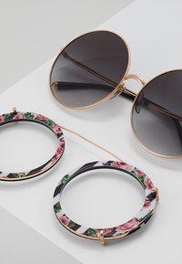 Dolce&Gabbana - Solbriller - pink/gold-coloured/black/rose - 2