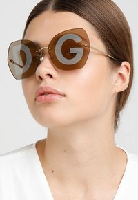 Dolce&Gabbana - Sunglasses - gold-coloured - 3