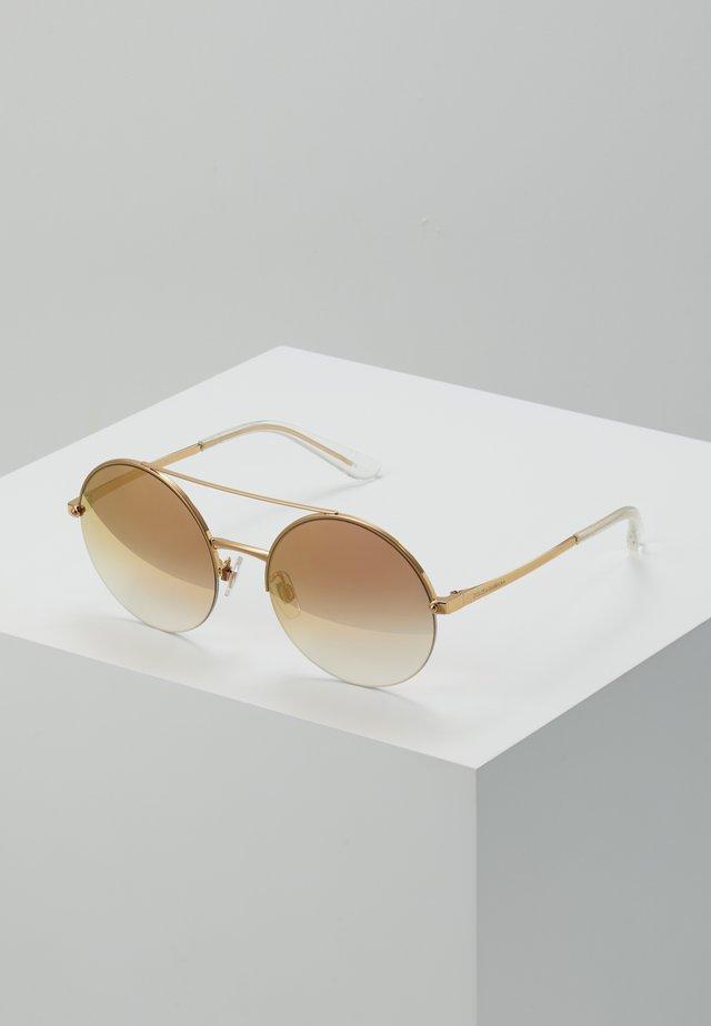 Okulary przeciwsłoneczne - pink gold
