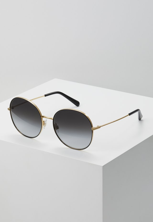 Sunglasses - gold-coloured/black