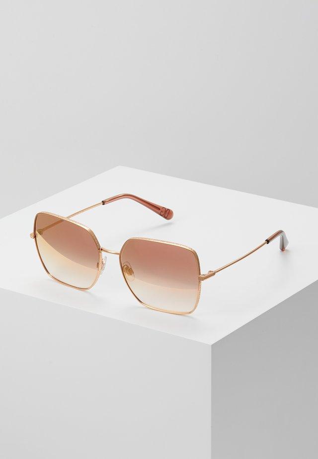 Okulary przeciwsłoneczne - pink/gold