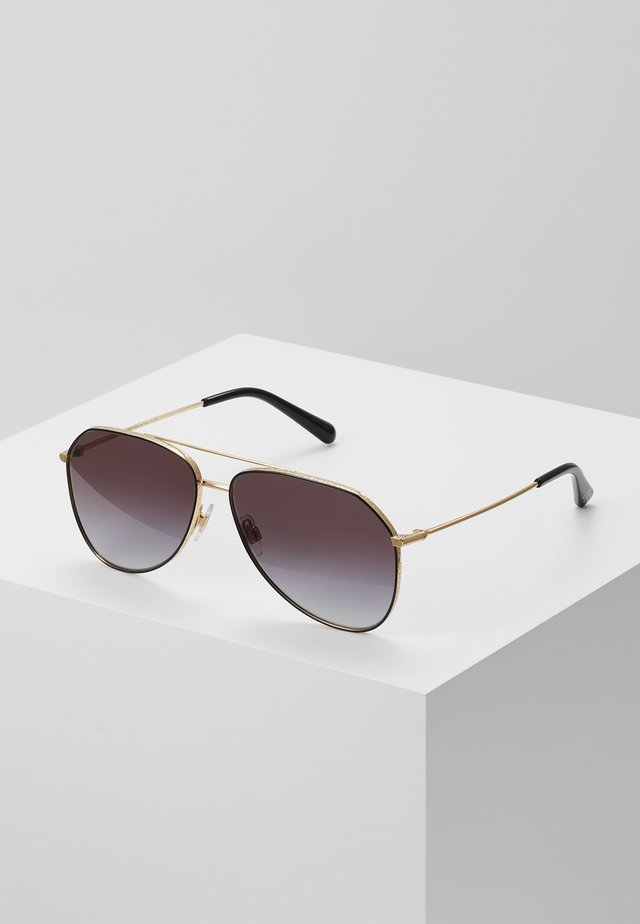 Sonnenbrille - gold/black