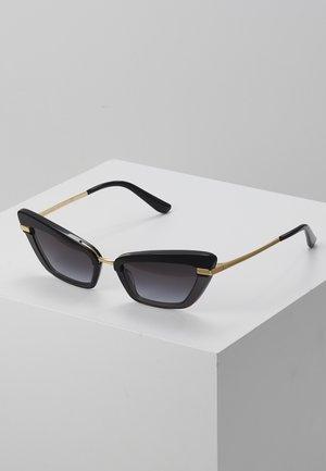 Lunettes de soleil - black/gold-coloured