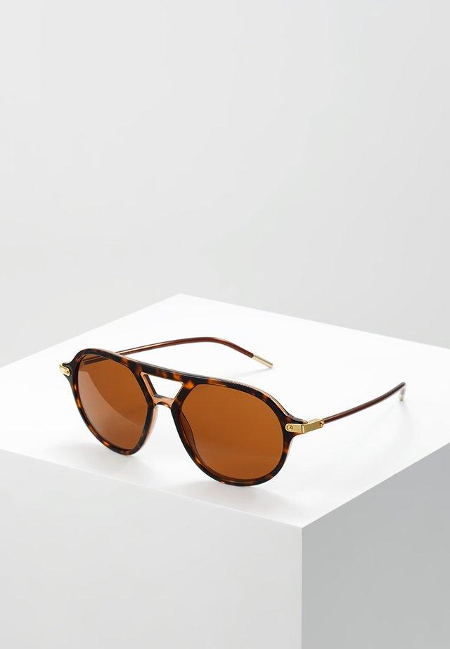 Okulary przeciwsłoneczne - top havana/transparent brown