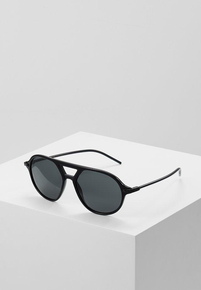 Sunglasses - black/matte black/grey