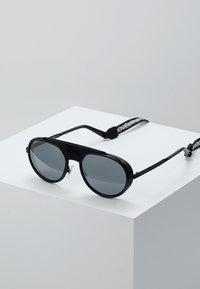 Dolce&Gabbana - Solbriller - black/matte black/light grey mirror black - 0