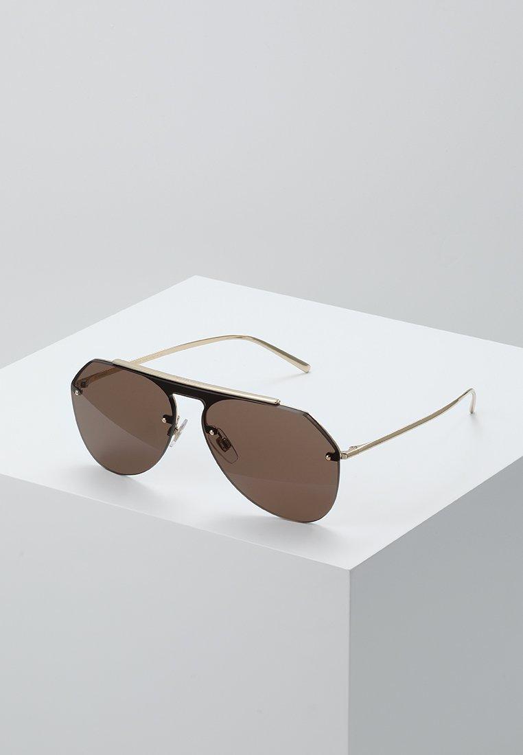 Dolce&Gabbana - Gafas de sol - gold-coloured/brown
