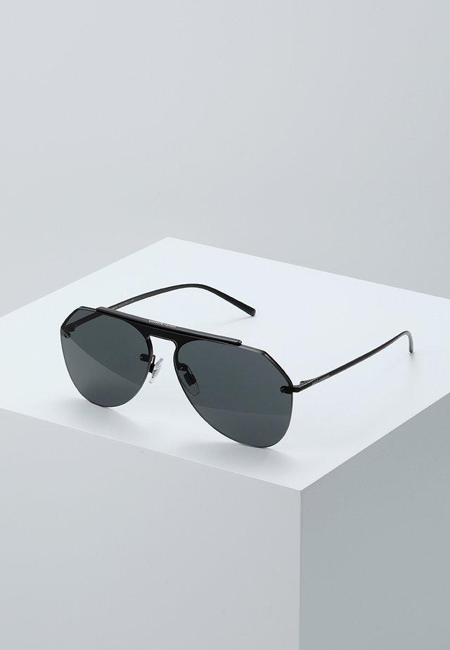 Sonnenbrille - matte black/grey