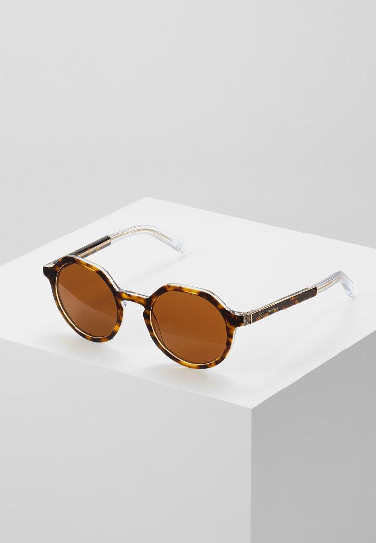 Dolce&Gabbana - Solbriller - havana/crystal