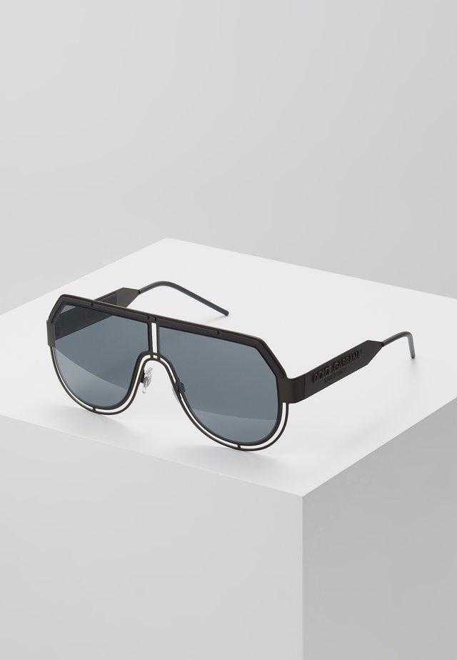 Okulary przeciwsłoneczne - matte dark gunmetal