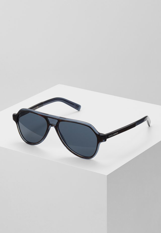 Sunglasses - top havana/blue