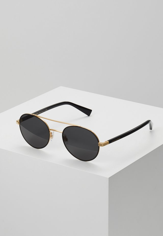 Sunglasses - gold-coloured/matte black