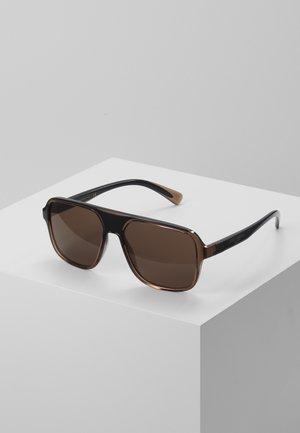 Sluneční brýle - transparent brown/black