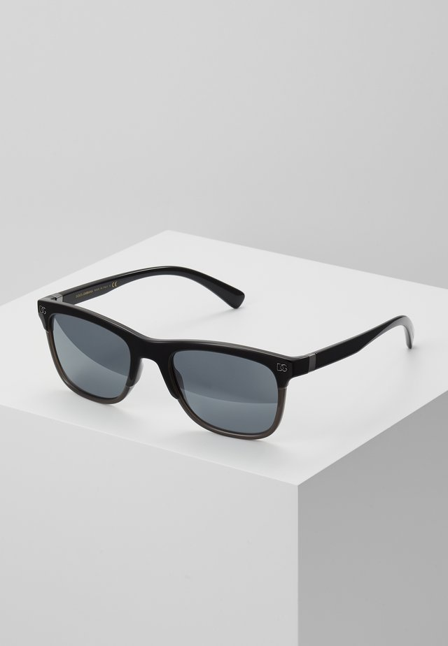 Sonnenbrille - top black on grey