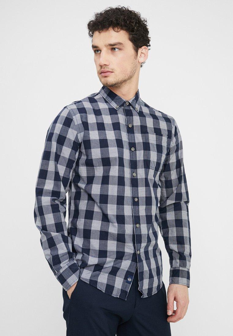 DOCKERS - LAUNDERED POPLIN - Shirt - darkblue
