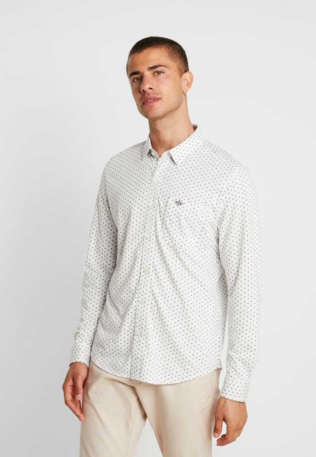 ALPHA BUTTON UP - Hemd - burke light grey heather