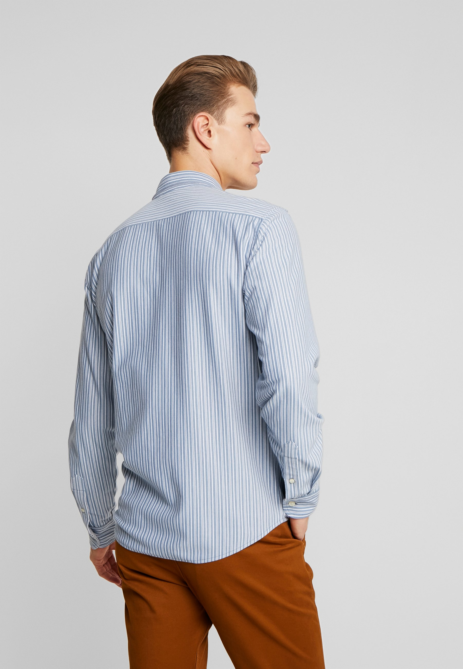 Dockers Alpha 360 Button Up - Skjorta Sato Coronet Blue