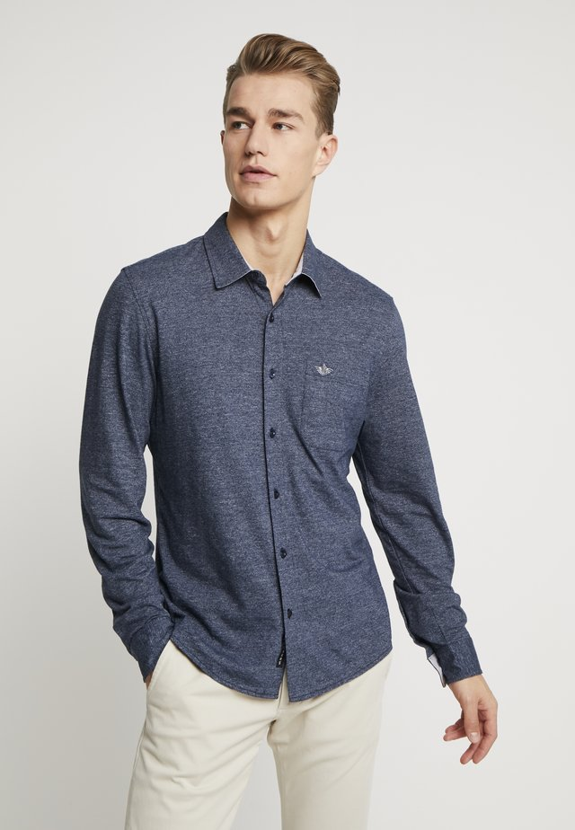 ALPHA BUTTON UP - Hemd - pembroke infused slub