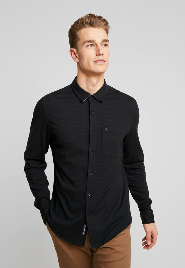 ALPHA BUTTON UP - Chemise - pirate black