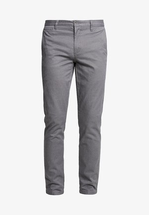 CLEAN KHAKI MARINA EXTRA SLIM - Pantalones chinos - burma grey