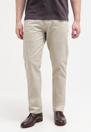 ALPHA ORIGINAL SLIM TAPERED - Trousers - safari beige