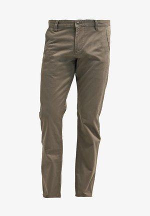 ALPHA ORIGINAL SLIM TAPERED - Spodnie materiałowe - dark pebble core