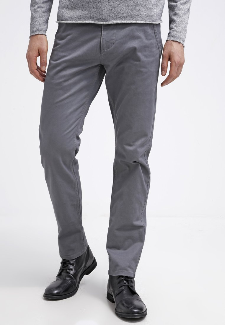 DOCKERS - ALPHA ORIGINAL SLIM TAPERED - Trousers - burma  grey core