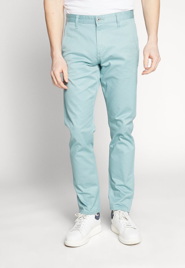 ALPHA ORIGINAL - Trousers - mineral blue