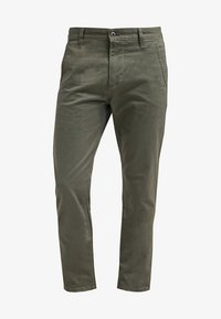 DOCKERS - ALPHA ORIGINAL - Pantalon classique - olive core - 6