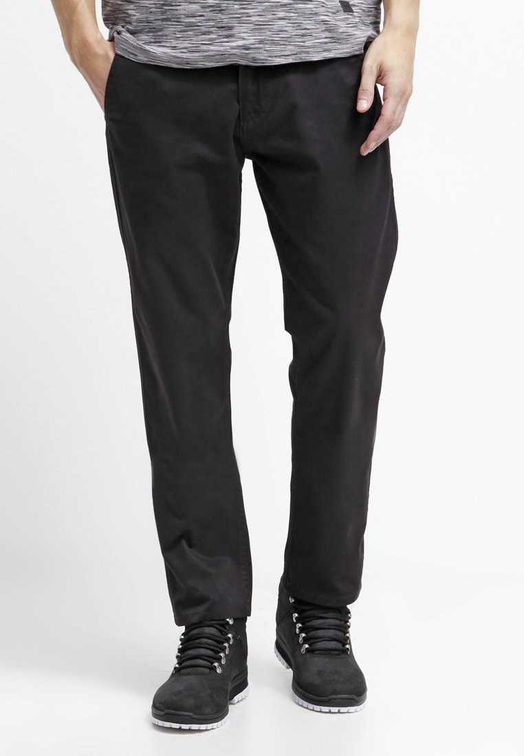 DOCKERS - ALPHA ORIGINAL SLIM TAPERED - Pantalon classique - black core