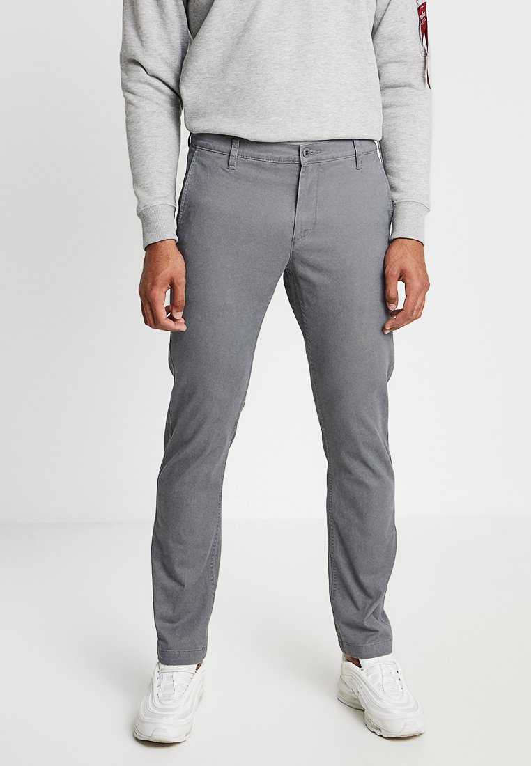 DOCKERS - PACIFIC FIELD SLIM TAPERED - Chinos - burma grey