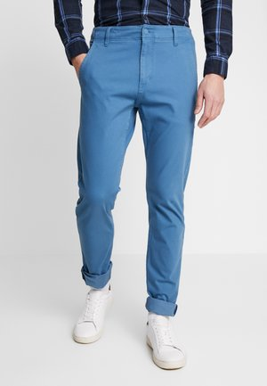 SMART FLEX ALPHA LIGHTWEIGHT TEXTURED - Chino - blue brine
