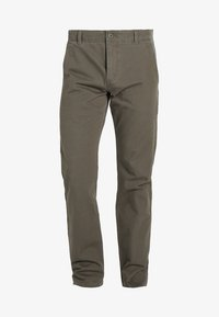 DOCKERS - SMART 360 FLEX ALPHA SLIM - LIGHTWEIGHT TEXTURED - Chinot - dockers olive - 5