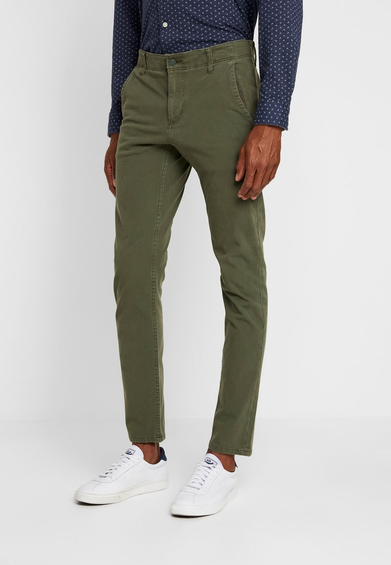 DOCKERS - SMART 360 FLEX ALPHA SKINNY - Chino - olive