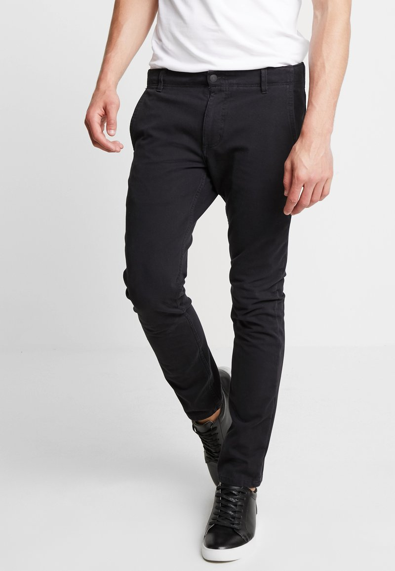 DOCKERS - SMART 360 FLEX ALPHA SKINNY - Chino kalhoty - black