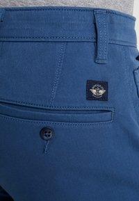DOCKERS - SMART SUPREME FLEX SKINNY - Chinot - ensign blue - 4