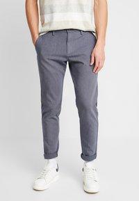DOCKERS - SMART 360 TAPERED - Chino kalhoty - doyle estate blue - 0